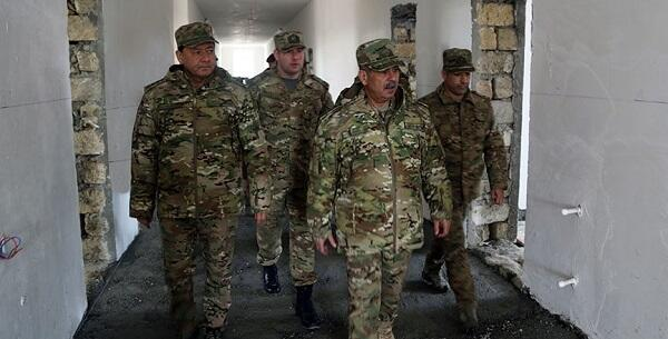 New military facilities are built for our army -