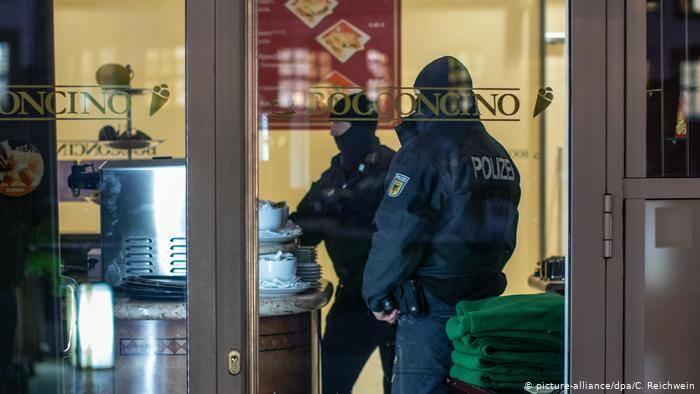Беспорядки в Берлине: пострадали 93 полицейских