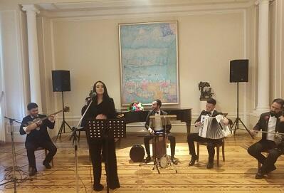 Tuğ kəndinin müəllimləri muzeydə konsert verdi - Foto