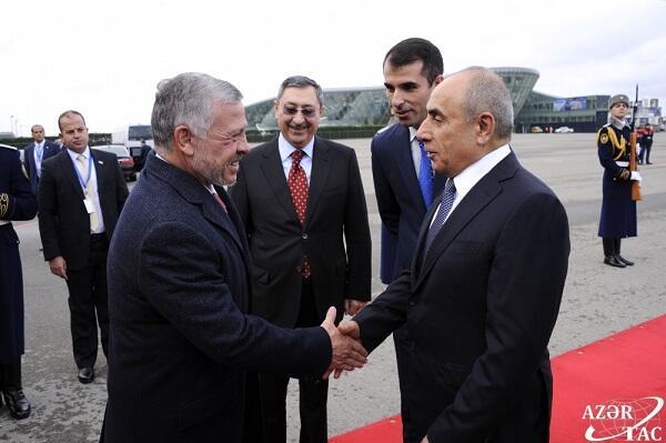 Завершился визит Короля Иордании в Азербайджан