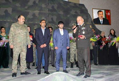 Qarabağ qazisinə döyüş medalı təqdim olundu - Foto