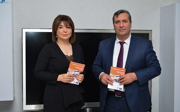 """""""Gender bərabərliyi və media"""" vəsaiti təqdim olundu - Foto"""