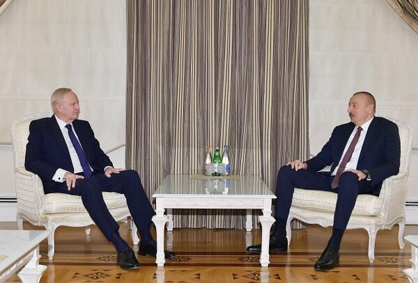 Ильхам Алиев принял Роберта Дадли