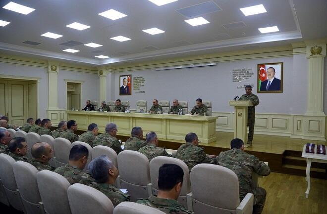 Состоялось заседание Коллегии Министерства обороны