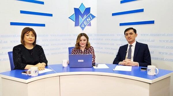 Aynur Camalqızı və Tural Abbaslının siyasi debatı - Video