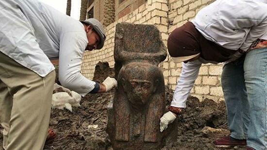 В Египте обнаружили статую Рамзеса II
