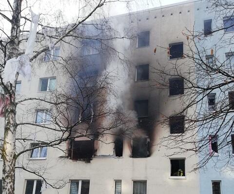 Almaniyada partlayış: 1 ölü, 25 yaralı