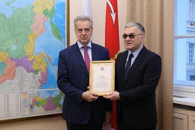 Qubernatordan Qasımovla bağlı - Fərman