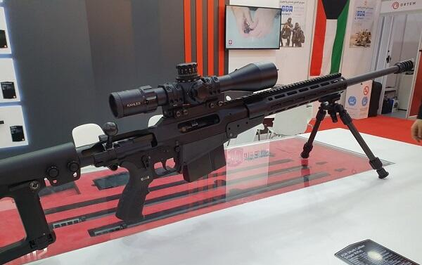 Турция показала новейшую снайперскую винтовку