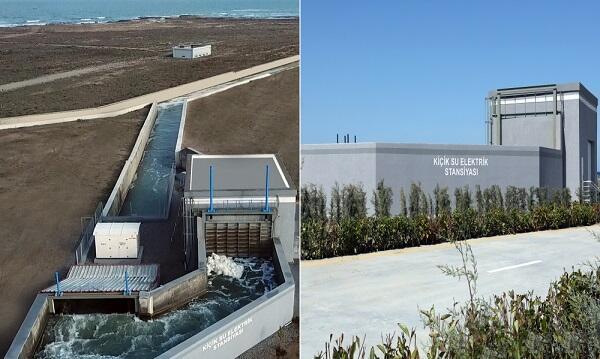 В Баку введена в строй новая малая гидроэлектростанция