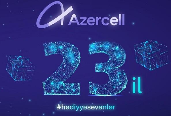 Win super prizes and surprise gifts from Azercell!