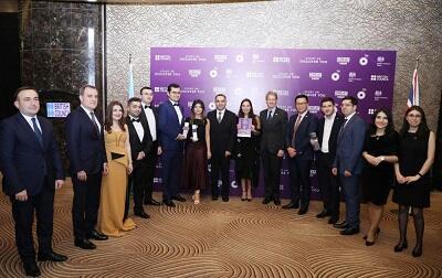 Лейла Алиева на церемонии объявления победителей