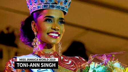 Jamaican beauty crowned Miss World 2019
