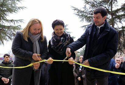 Marneulidə İcma mərkəzi açıldı - Foto