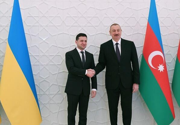 Zelensky called Ilham Aliyev