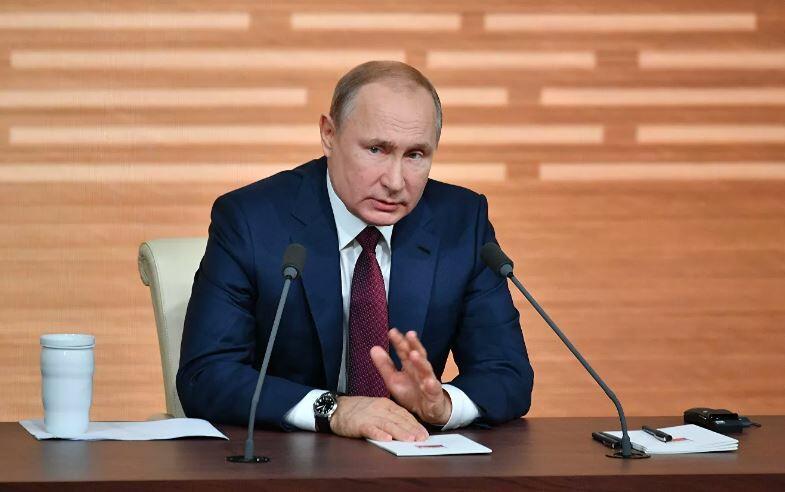 Putin sets conditions for Russia's nuclear weapons use