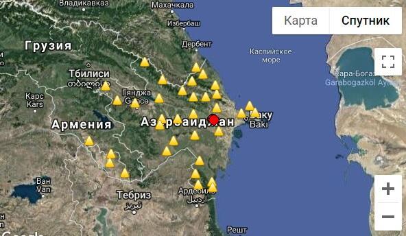 В Шамахе произошло землетрясение
