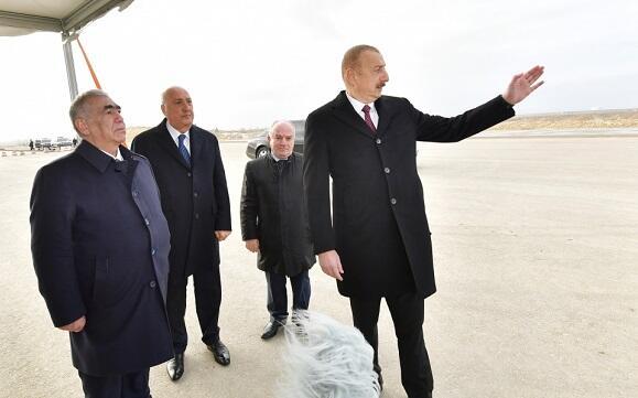 Göstərişimlə inşa edilmiş hava limanları... - Prezident