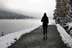 Почему опасно бегать в морозную погоду