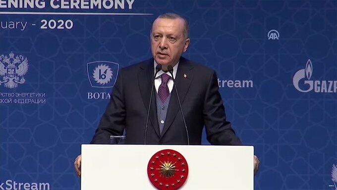 Erdogan slams Syrian regime aggression in NW Idlib