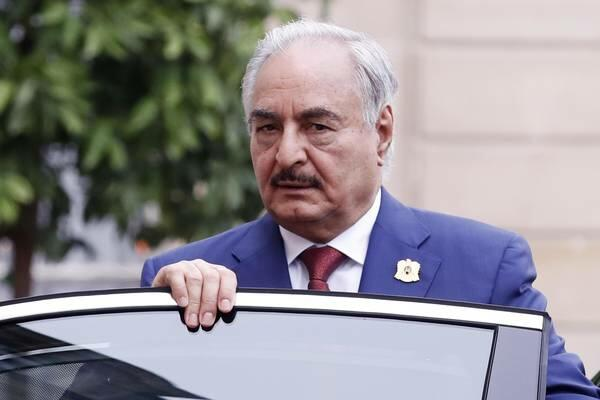 Хафтар принял приглашение Путина