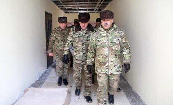 Defense Minister inspected military facilities -