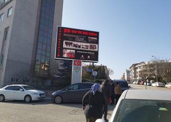 Türkiyədə reklam lövhələrində 20 Yanvarla bağlı fotolar yayıldı