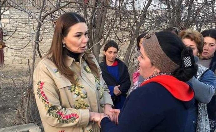 Paşayeva kəndləri qarış-qarış gəzir… - Foto