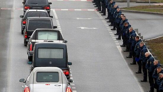 В Киеве началось прощание с погибшими в авиакатастрофe