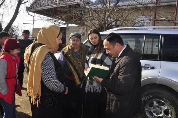 Paşayeva Əyyubluda görüşlər keçirdi - Foto
