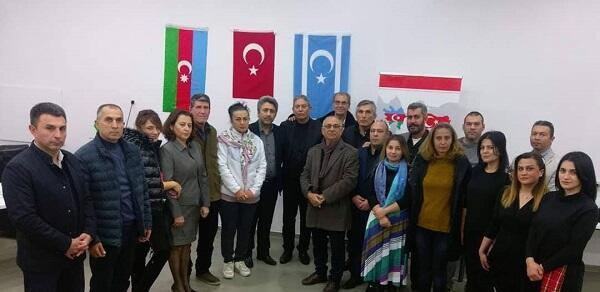 20 Yanvar şəhidləri Antalyada anıldı - Foto