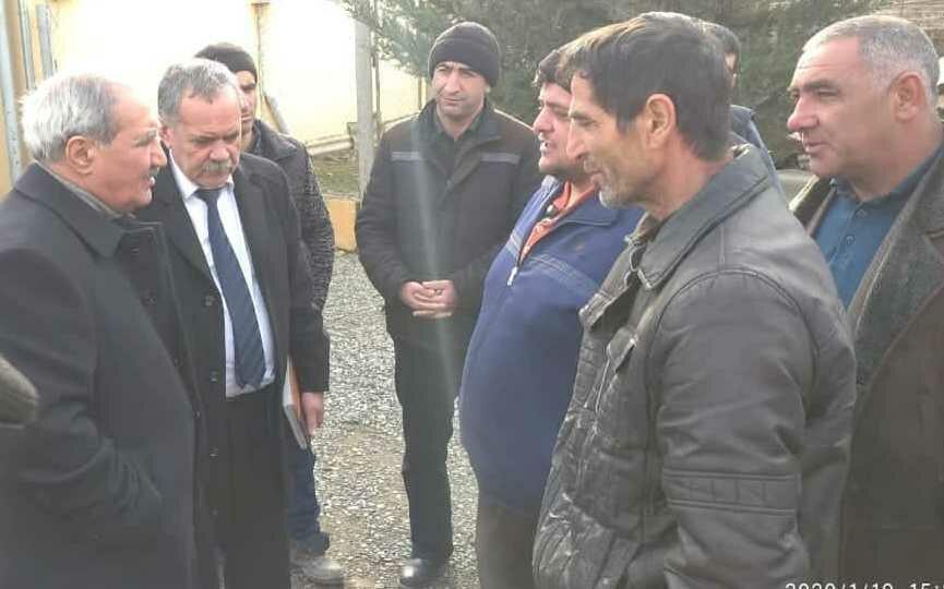 Fəzail Ağamalı şəhid ailələrini ziyarət etdi - Foto