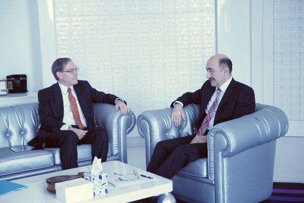 Abulfas Garayev met with US ambassador -