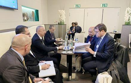 Ilham Aliyev met with the EBRD President