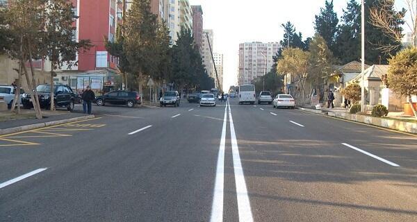 В Хырдалане завершился ремонт двух улиц