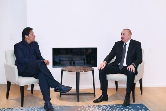 Ilham Aliyev met with Imran Khan