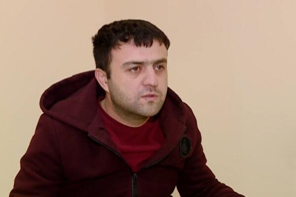 Osman Gəncinski Gəncədə saxlanıldı - Video