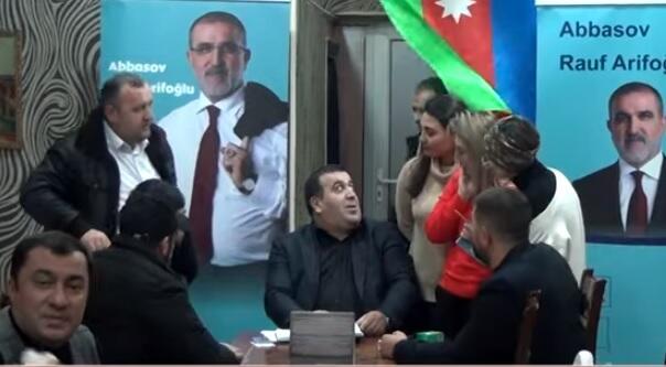 Rauf Arifoğlunun qərargahında nələr baş verir? - Video