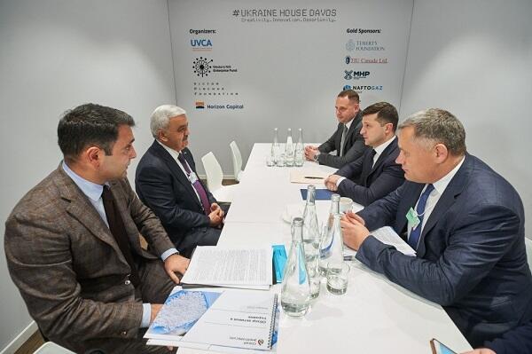 Zelensky and Rovnag Abdullayev have met
