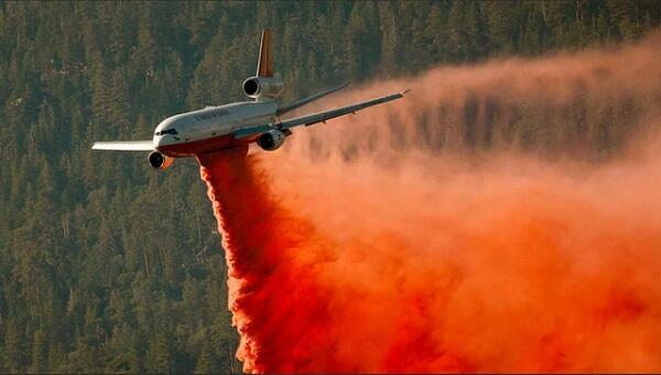 В Австралии разбился самолет, тушивший лесные пожары