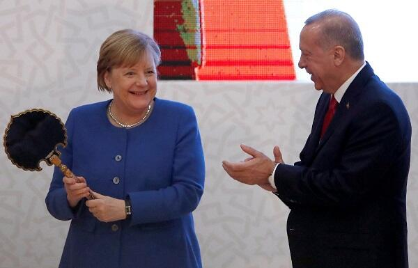 Two interesting gifts from Erdogan to Merkel -