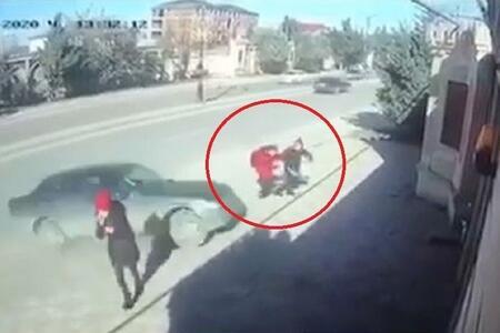 Xırdalanda azyaşlıları vuran avtomobilin sürücüsü tutuldu