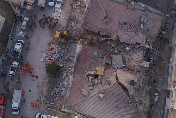 US released a recording of the earthquake in Turkey -