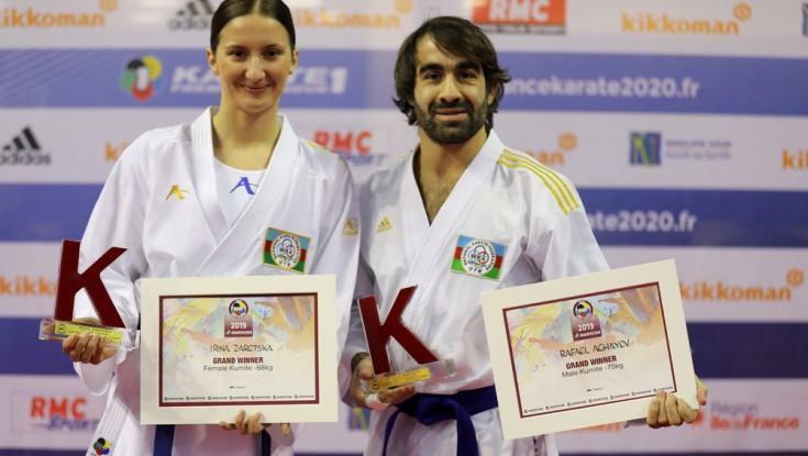 Ağayev və Zaretska dünyanın ən yaxşıları sırasında