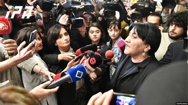 Tiflisdə aksiya: Bu ABŞ təşkilatları bağlansın!