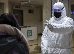 Bakıda koronovirusla bağlı məlumat lövhələri yerləşdirildi - Foto