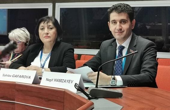 Naqif Həmzəyev ASPA-da yeni vəzifəyə seçildi - Foto