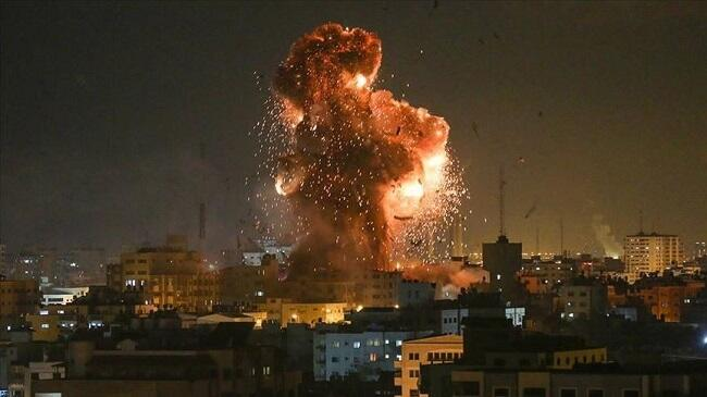 HƏMAS İsraildə kimya zavodunu vurdu