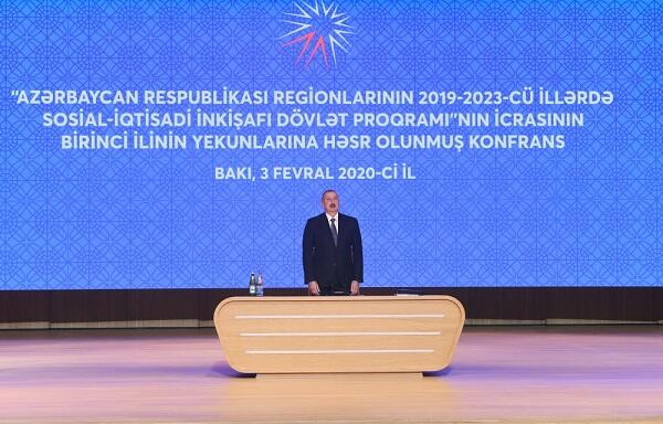 İlham Əliyev ilin yekunlarına həsr olunan konfransda
