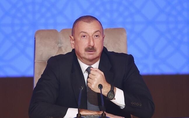 Алиев: Мы изменили реалии и они должны их учитывать